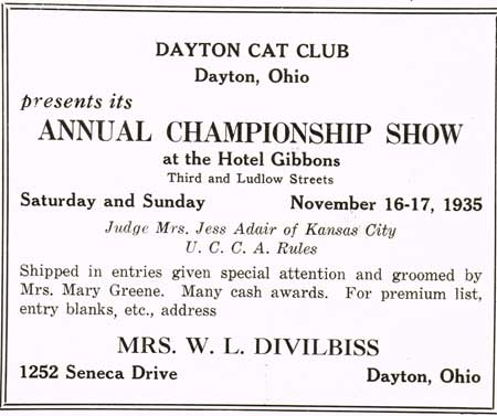 Dayton Cat Club